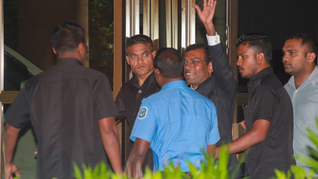 Maldives demands a 'hostage' for ex-president's travel to UK